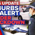 South Sydney on alert, Victoria cracks down on NSW border   Coronavirus   9 News Australia