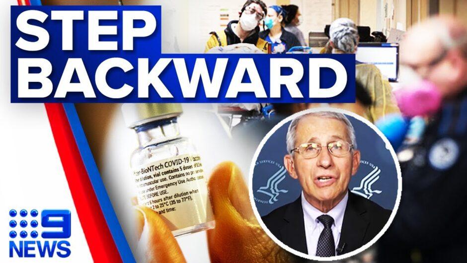 COVID-19 cases surge in America | Coronavirus | 9 News Australia