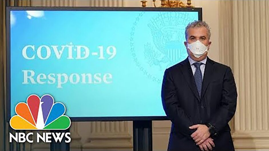 Live: White House Covid-19 Response Briefing | NBC News