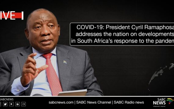 President Cyril Ramaphosa's address to the nation on South Africa's COVID-19 response